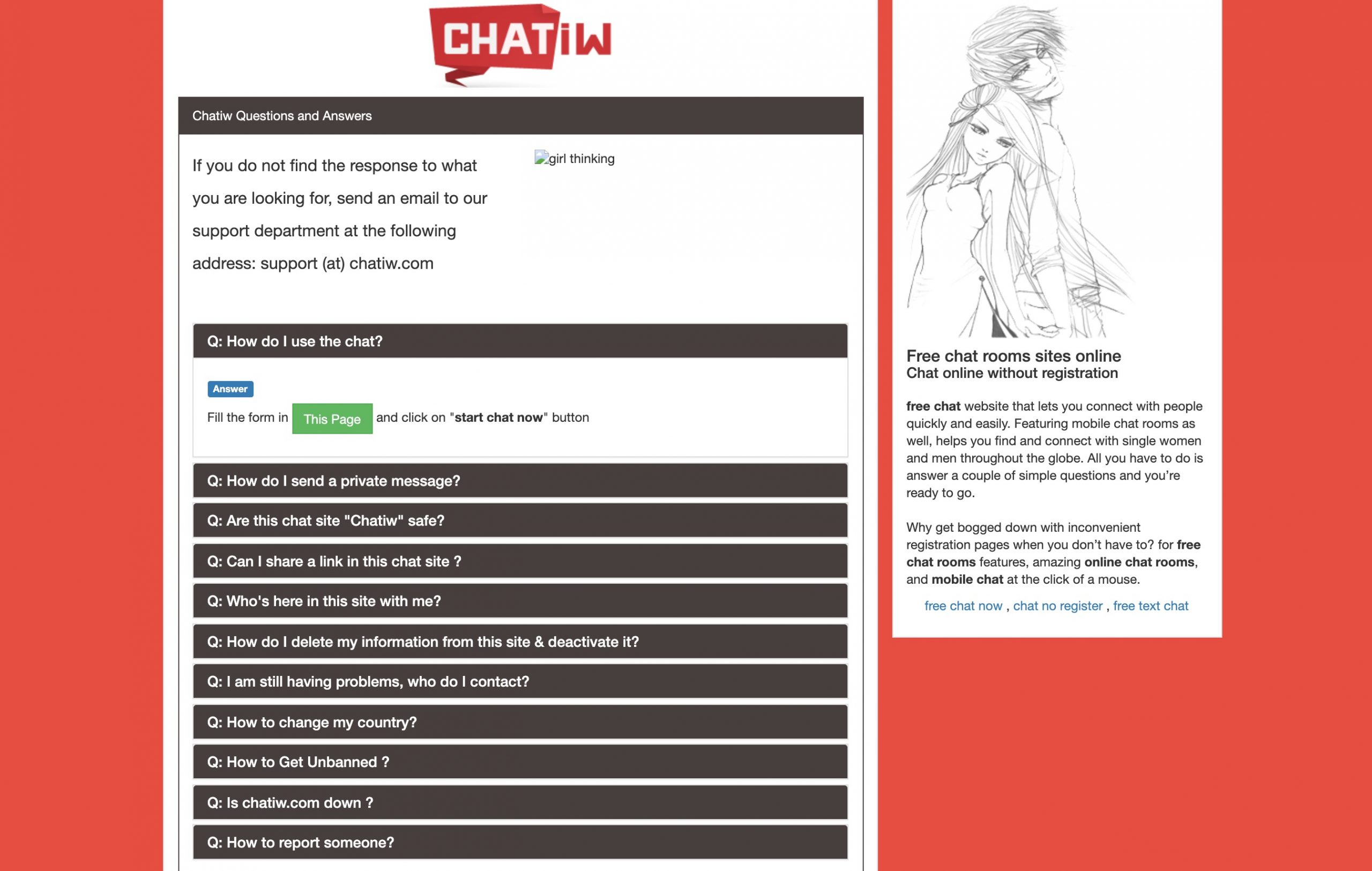 Chatiw.us FAQ